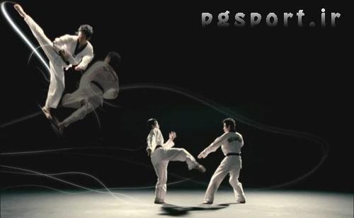 دانلود کلیپ دمو و زیبای حرکات تکواندو