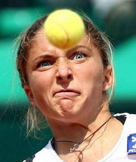 چهره های دیدنی در تنیس (شکار لحظه ها) - عکس