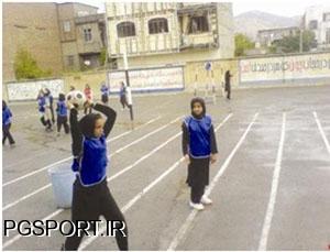 دختران دبیرستانی و ورزش