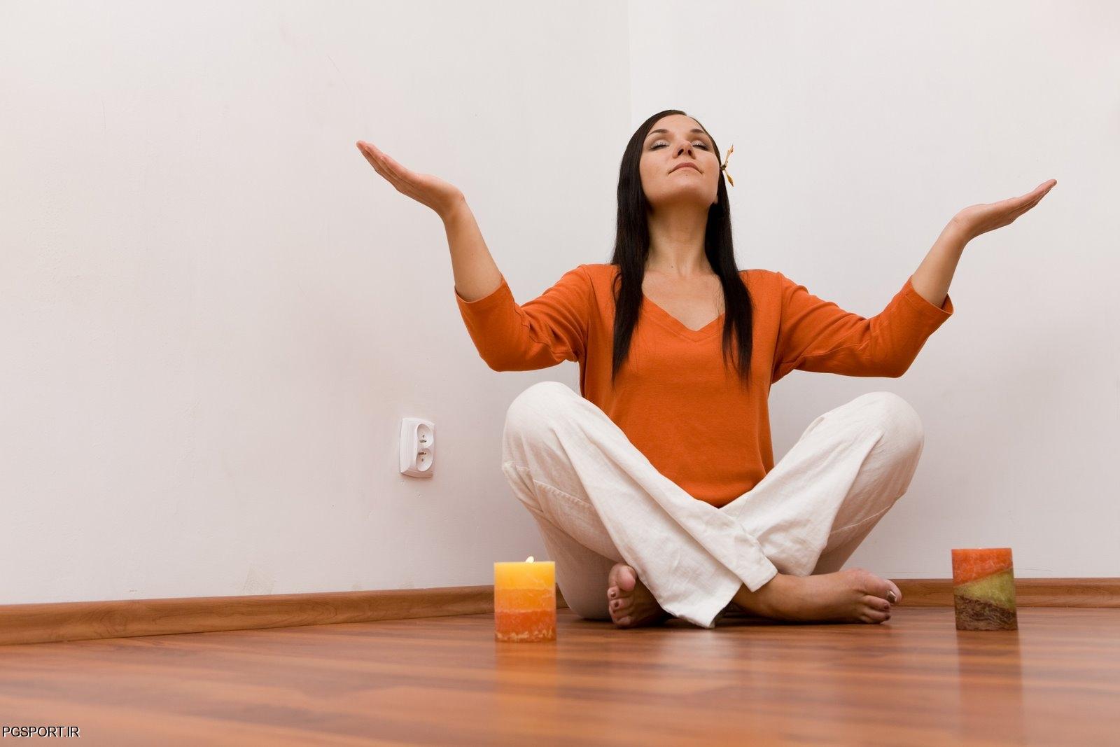 تمرینات شل کننده ( تن آرامی ) برای کاهش استرس