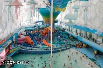 تبدیل استادیوم المپیک به پارک آبی