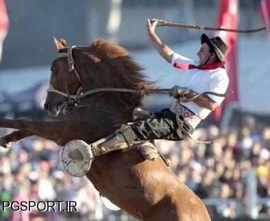 جشنواره سوار کاری سالانه در اروگوئه