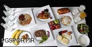 رژیم غذایی ورزشکاران المپیکی
