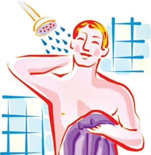 تناسب اندام خود را با حمام کردن حفظ کنيد