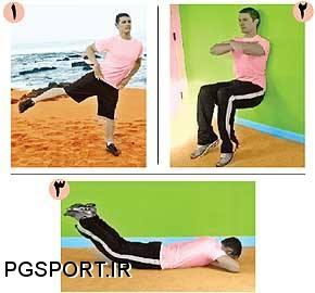 حركاتی برای تقویت عضلات ران