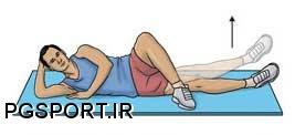 نرمش های بازپروری کشیدگی عضلات کشاله ران