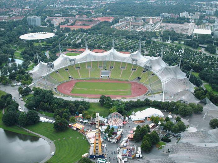 ورزشگاه المپیک شهر مونیخ
