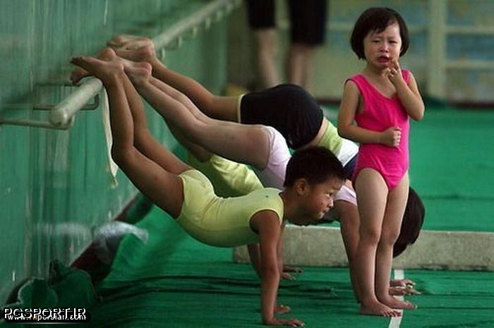 تولید انبوه قهرمان المپیک در چین