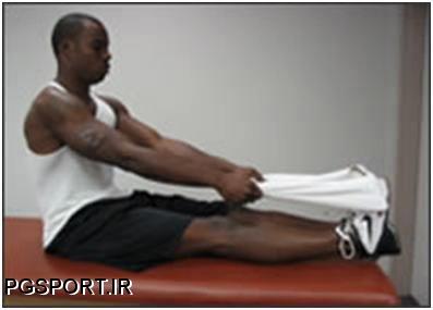 کشیدگی عضله ساق پا,درمان  کشیدگی عضله ساق پا,تمرینات ورزشی برای درمان کشیدگی عضله ساق پا