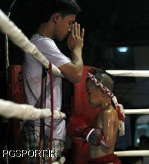 تمرینات سخت و سنگین بوکس برای کودکان