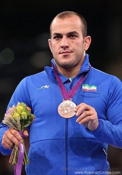 مدال برنز احسان لشکری  مدال برنز احسان لشگری در وزن 84 کیلوگرم کشتی آزاد