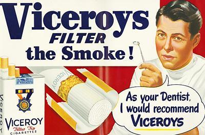 تبلیغات فواید سیگار برای سلامتی بدن!